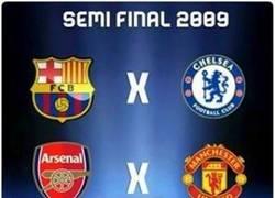 Enlace a Recordando cuando 3 de los 4 semifinalistas eran de la Premier