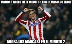 Enlace a Torres marcando goles minuto a minuto