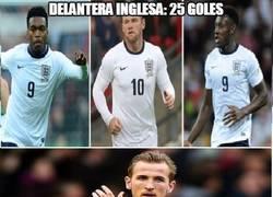 Enlace a Los delanteros de la selección inglesa