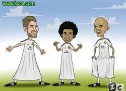 Enlace a Jugadores del Real Madrid en el clásico, hay que evitar a toda costa los caños de Messi