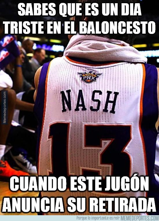 485174 - Steve Nash anuncia su retirada