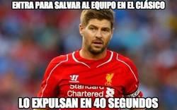 Enlace a Pobre Gerrard...