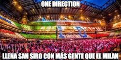 Enlace a One Direction en San Siro