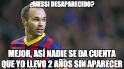 Enlace a Si Messi fuese el único que está desaparecido...