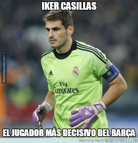 487054 - Iker Casillas, el más decisivo del Barça