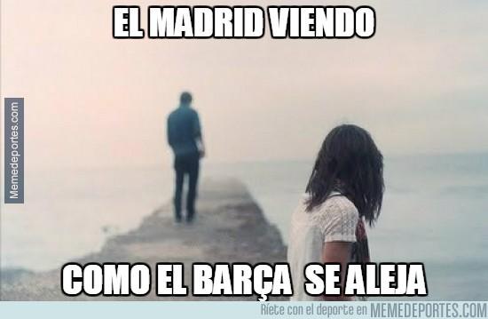 487190 - El Madrid viendo cómo el Barça se aleja