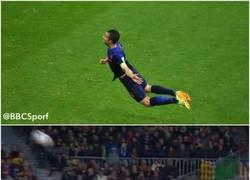 Enlace a Casillas aprendiendo a volar como RVP