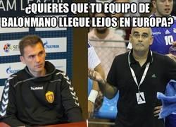 Enlace a Histórico. Cinco entrenadores españoles en cuartos de final de la EHF Champions League