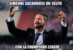 Enlace a Simeone y su Champions League
