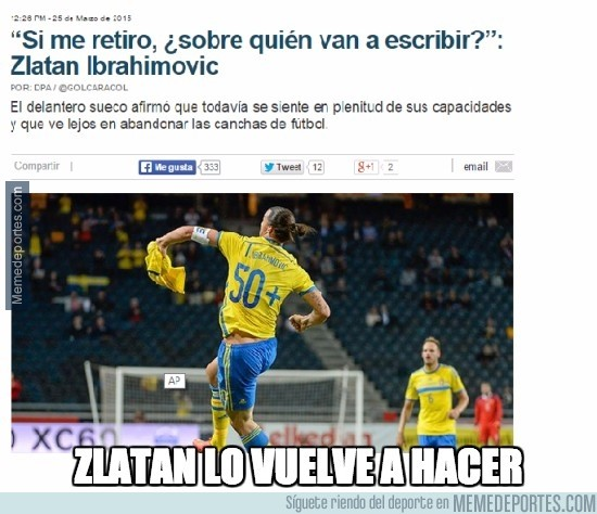 489381 - Ibrahimovic lo vuelve a hacer