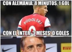 Enlace a Podolski sólo cumple con la selección