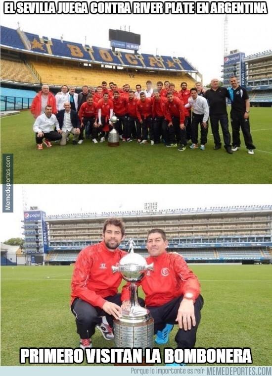 489661 - El Sevilla jugará contra River Plate