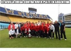 Enlace a El Sevilla jugará contra River Plate