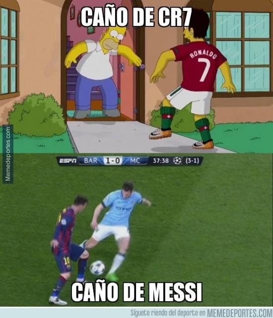 490060 - Caño de Cristiano vs Caño de Messi ¿Con cuál te quedas?