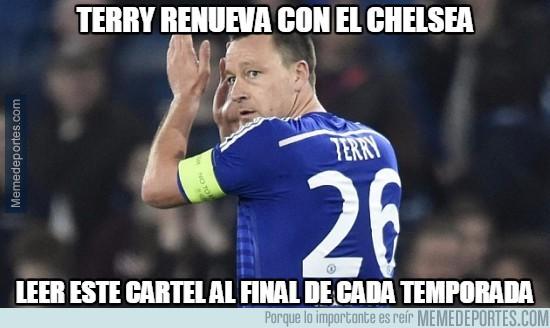 490512 - Terry renueva con el Chelsea