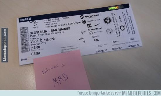 490729 - Memedeportes en el Eslovenia-San Marino, ¿alguien se quiere venir?
