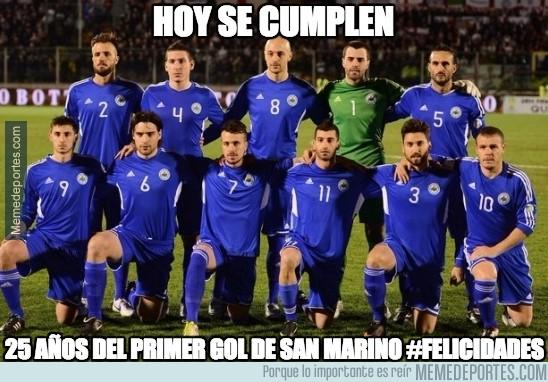 491169 - San Marino ha perdido 6-0 pero hoy tienen algo que celebrar