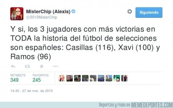 491485 - FLIPANTE DATO: Los 3 jugadores con más victorias de la historia del fútbol son españoles