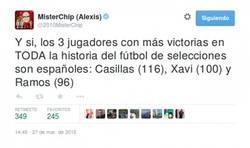 Enlace a FLIPANTE DATO: Los 3 jugadores con más victorias de la historia del fútbol son españoles