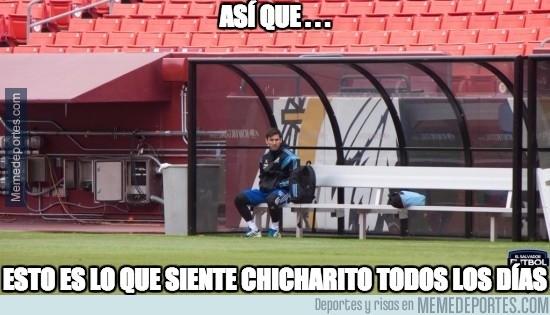 492032 - Messi se pone en la piel de Chicharito