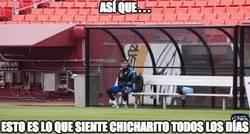 Enlace a Messi se pone en la piel de Chicharito