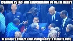 Enlace a Henry y Zidane vuelven loco al público