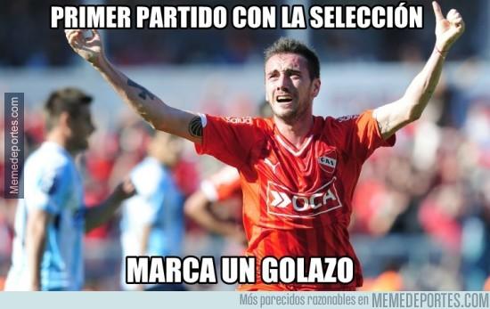 492225 - Gran debut de Mancuello con Argentina