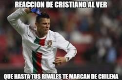 Enlace a Matic acaba de marcar de chilena en la cara de Cristiano