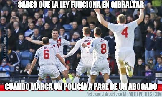 493663 - Sabes que la ley funciona en Gibraltar