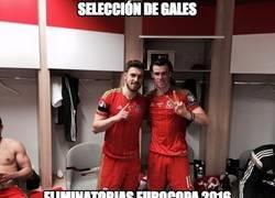 Enlace a Foto de la selección de Gales