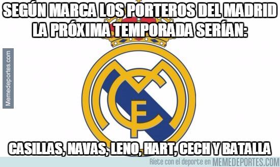 493950 - Según Marca, los porteros del Madrid la próxima temporada serían: