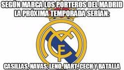 Enlace a Según Marca, los porteros del Madrid la próxima temporada serían:
