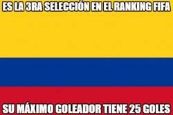 Enlace a Son 3ros en el ranking FIFA, su máximo goleador tiene 25 goles