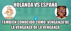 Enlace a No es un partido cualquiera, Holanda vs España