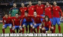 Enlace a Lo que necesita España en estos momentos
