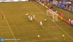Enlace a GIF: Gol del Kun Agüero, buen cabezazo en el área pequeña