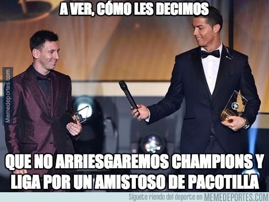 495921 - Messi y Cristiano más unidos que nunca en esto