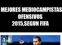 Enlace a Ver a Özil entre los mejores centrocampistas ofensivos del 2015 según la FIFA daña la vista
