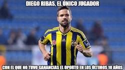 Enlace a Diego Ribas se le resistió al eficiente Oporto