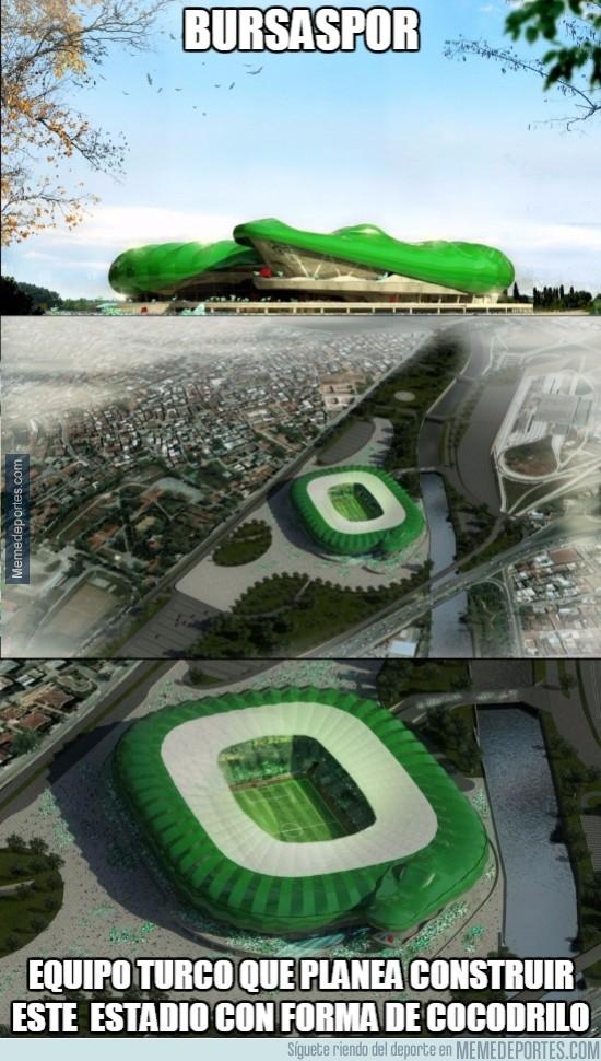 497012 - El Bursaspor de Turquía tendrá el estadio más extraño y novedoso que se ha visto
