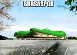 Enlace a El Bursaspor de Turquía tendrá el estadio más extraño y novedoso que se ha visto