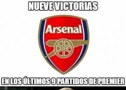 Enlace a ¡Vaya racha del Arsenal!