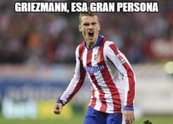 Enlace a Griezmann, buen jugador, mejor persona