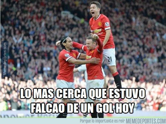 498136 - Hoy Falcao ha estado muy cerca del gol