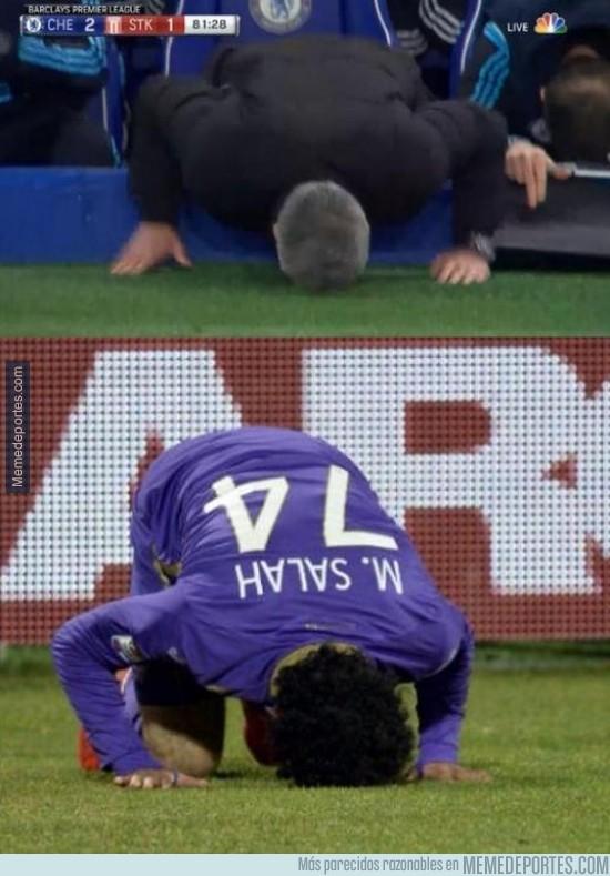 498449 - ¿Mourinho pidiendo la vuelta de Salah?