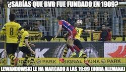 Enlace a ¡Vaya minuto ha marcado Lewandowski al BVB!