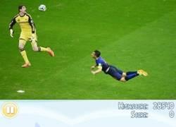 Enlace a Los chops de la cara de Courtois en el gol desde 60 metros