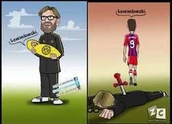 Enlace a Lewandowski y su traición a Klopp