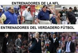 Enlace a Diferencias entre fútbol y fútbol americano