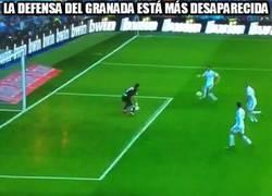 Enlace a Así ha sido la defensa del Granada contra el Real Madrid